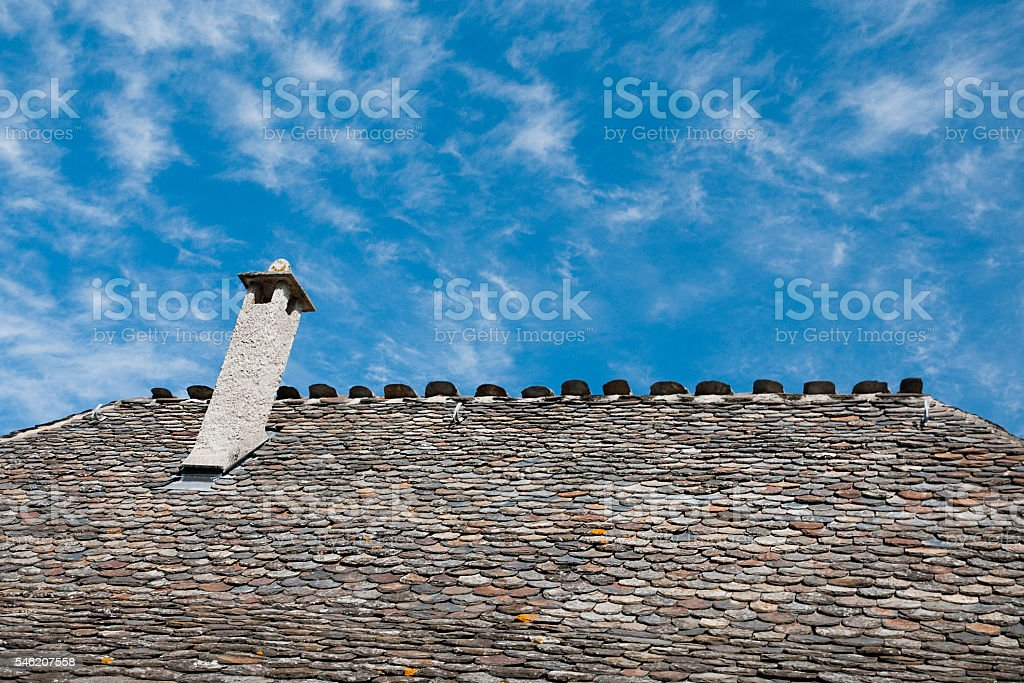 Roof top stock photo