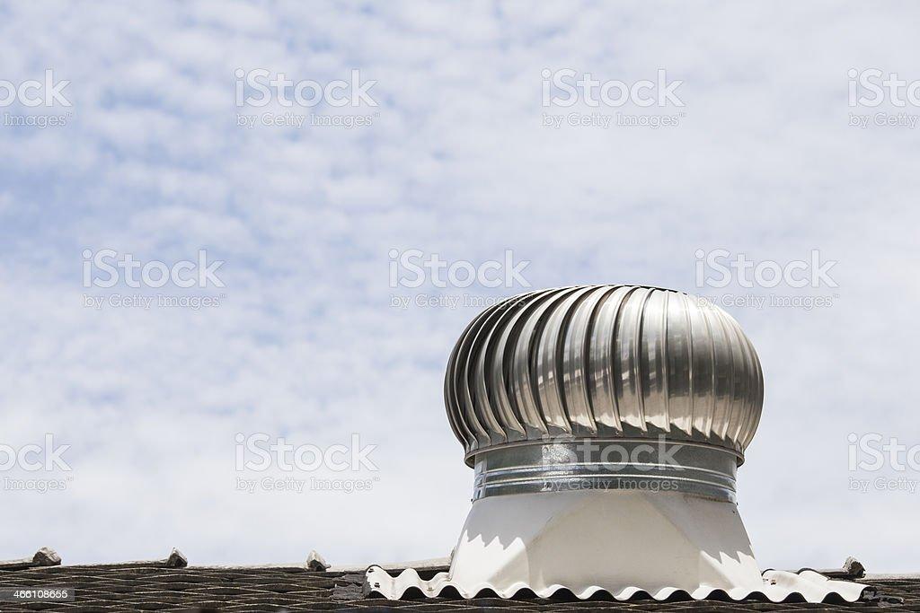 Roof Ventilation stock photo