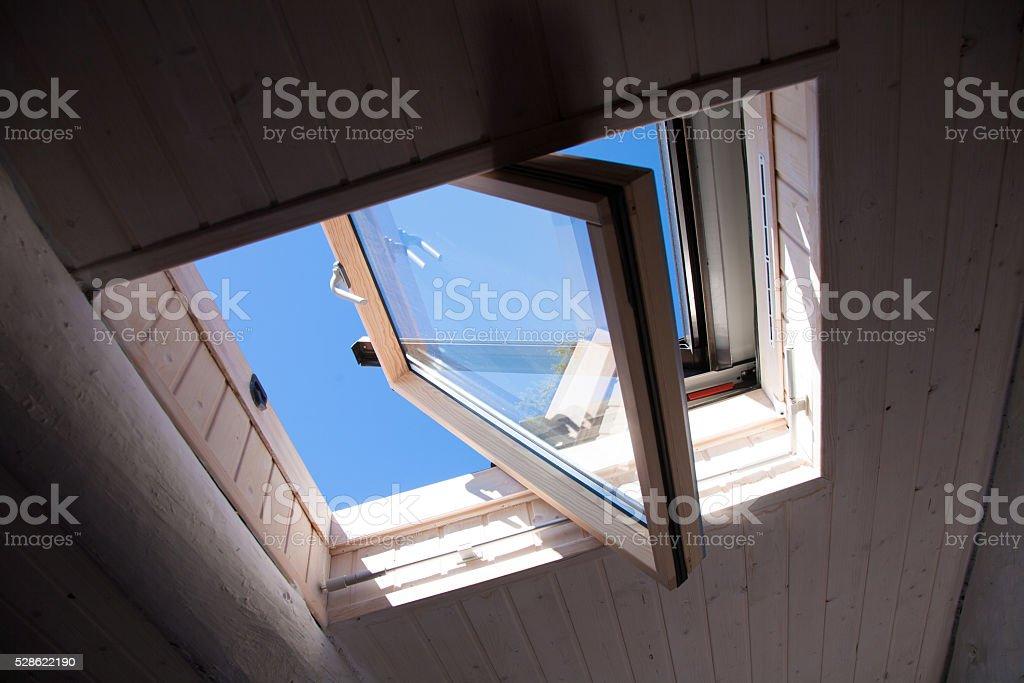 roof window stock photo