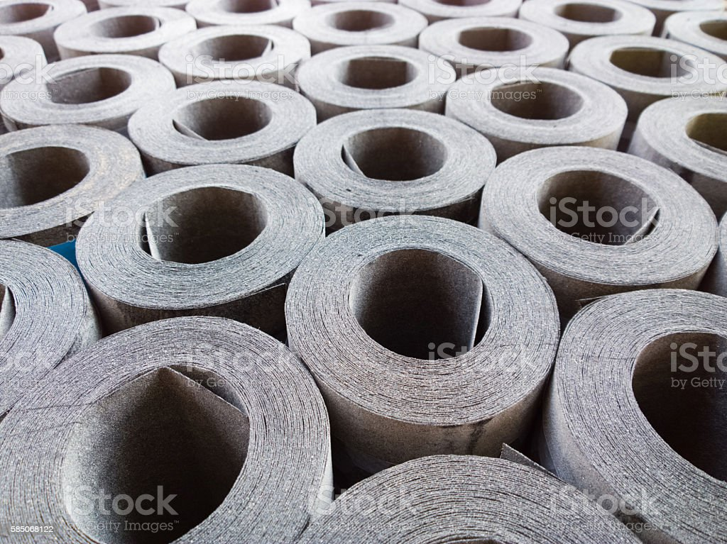 Roofing material. stock photo
