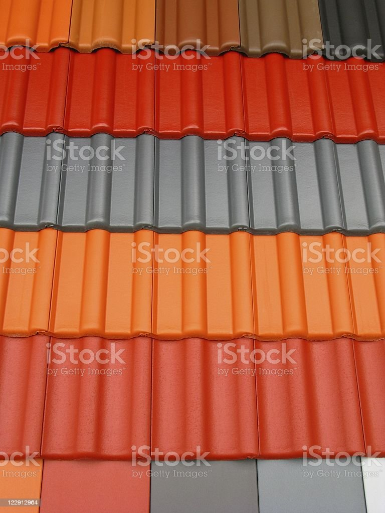 Roofing tiles royalty-free stock photo
