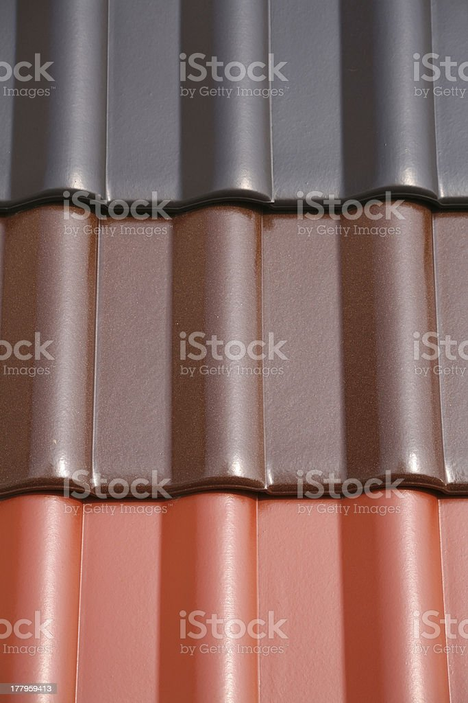 Roofing tiles stock photo