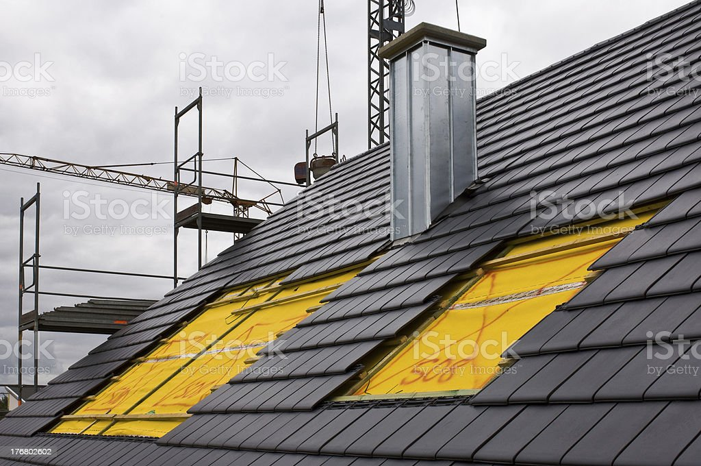 Roof-light assemby royalty-free stock photo