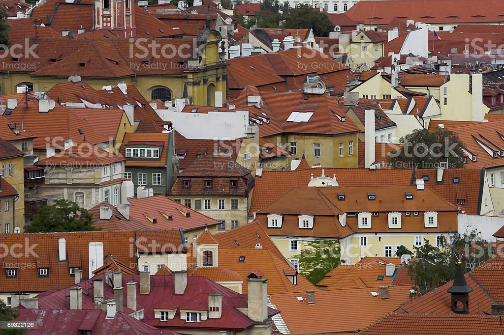 roofs royalty-free stock photo