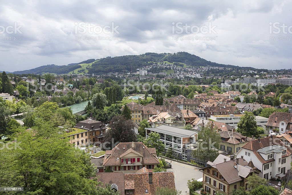 Rooftops of Bern royalty-free stock photo