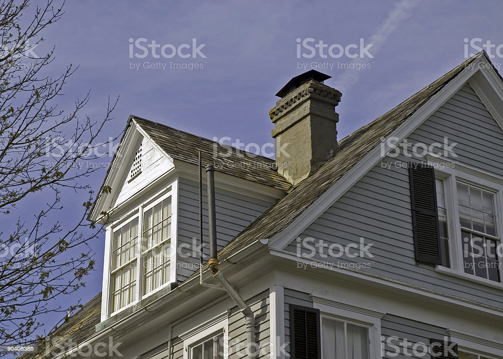 Rooftops of Charleston IV royalty-free stock photo