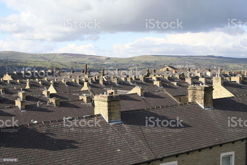 Rooftops. stock photo