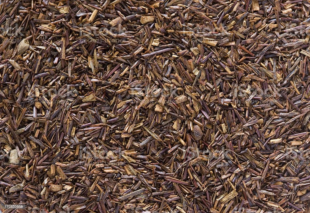 Rooibos Tea Leaves royalty-free stock photo