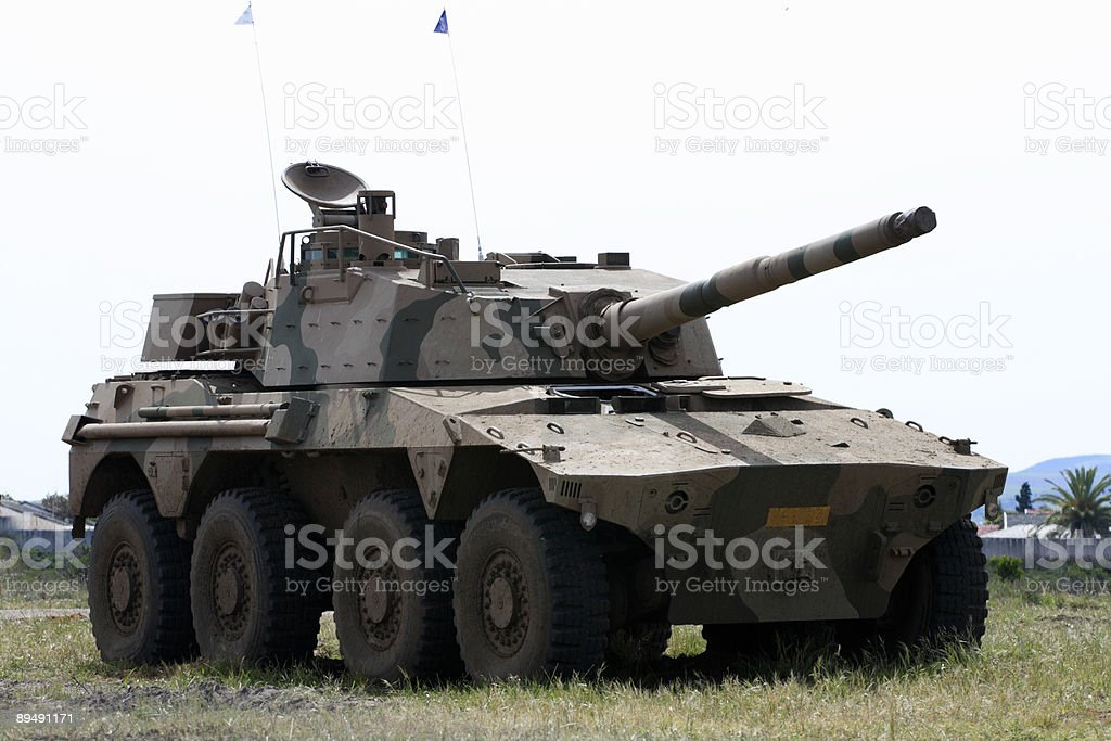 Rooikat 76 Armoured Fighting Vehicle stock photo