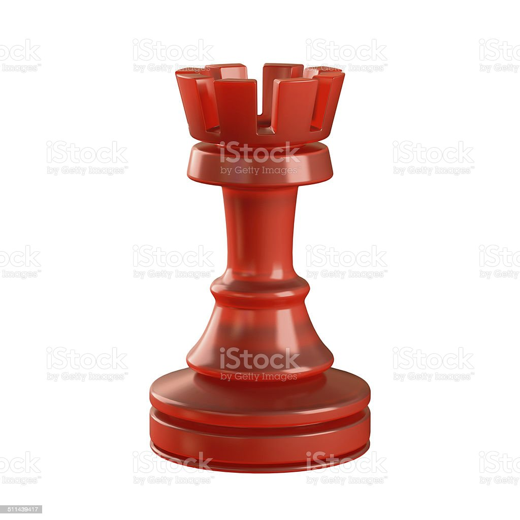 Rook Chess Piece stock photo