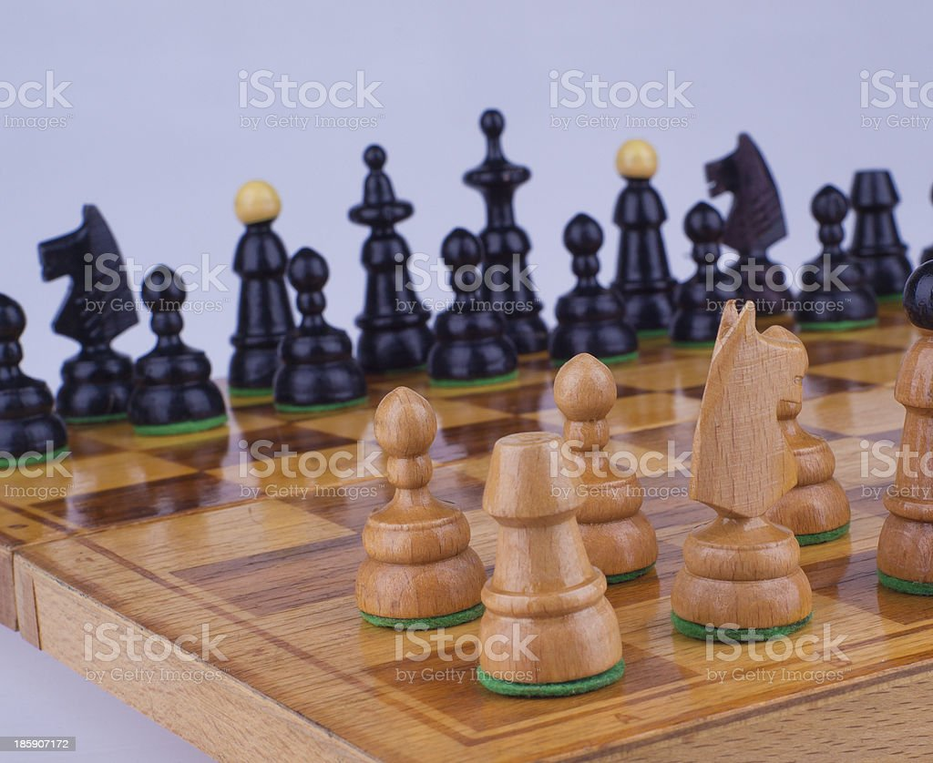 Rook in the corner - Stock Image royalty-free stock photo