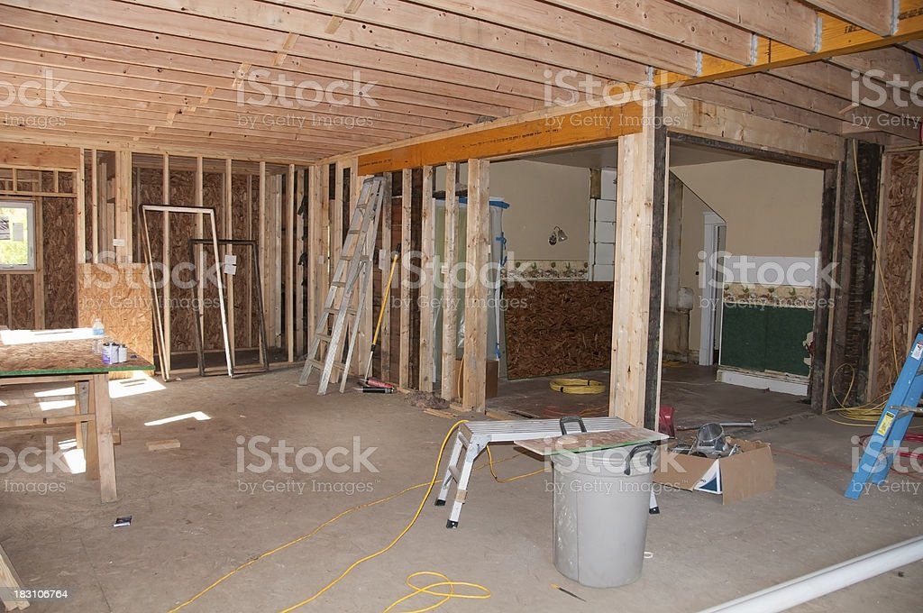 Room Addition royalty-free stock photo