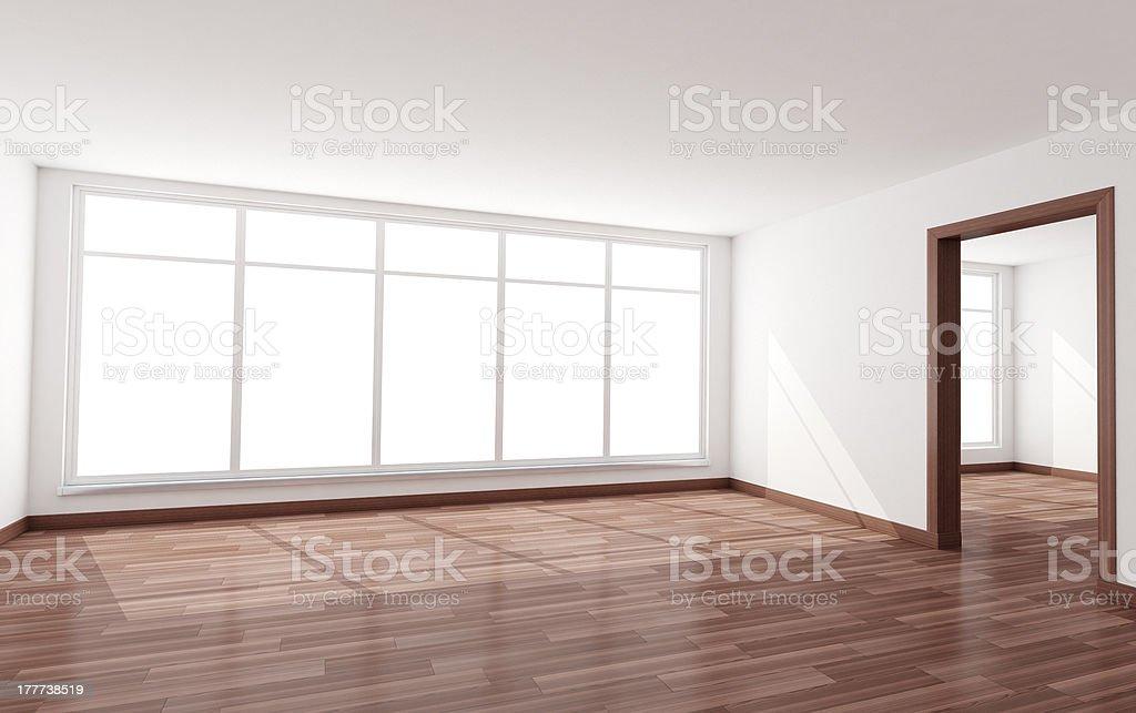 Room empty royalty-free stock photo