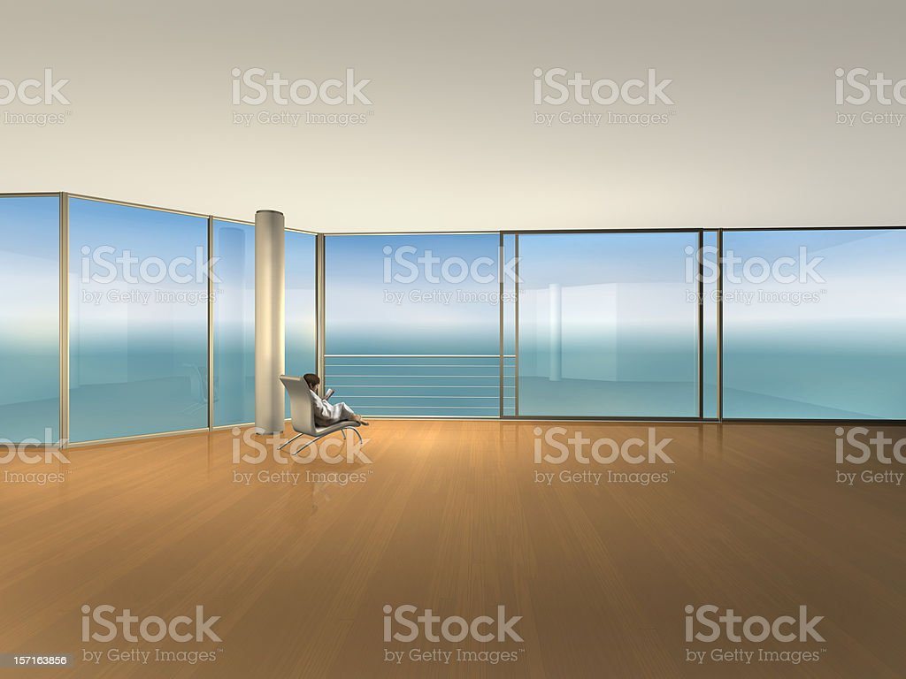 room for relaxation stock photo