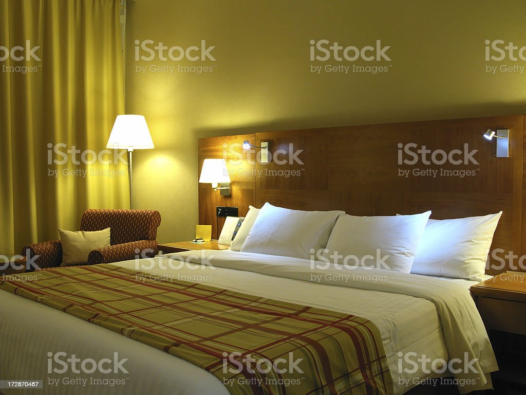 Room in hotel royalty-free stock photo