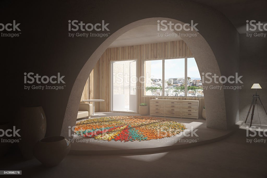 room interior stock photo