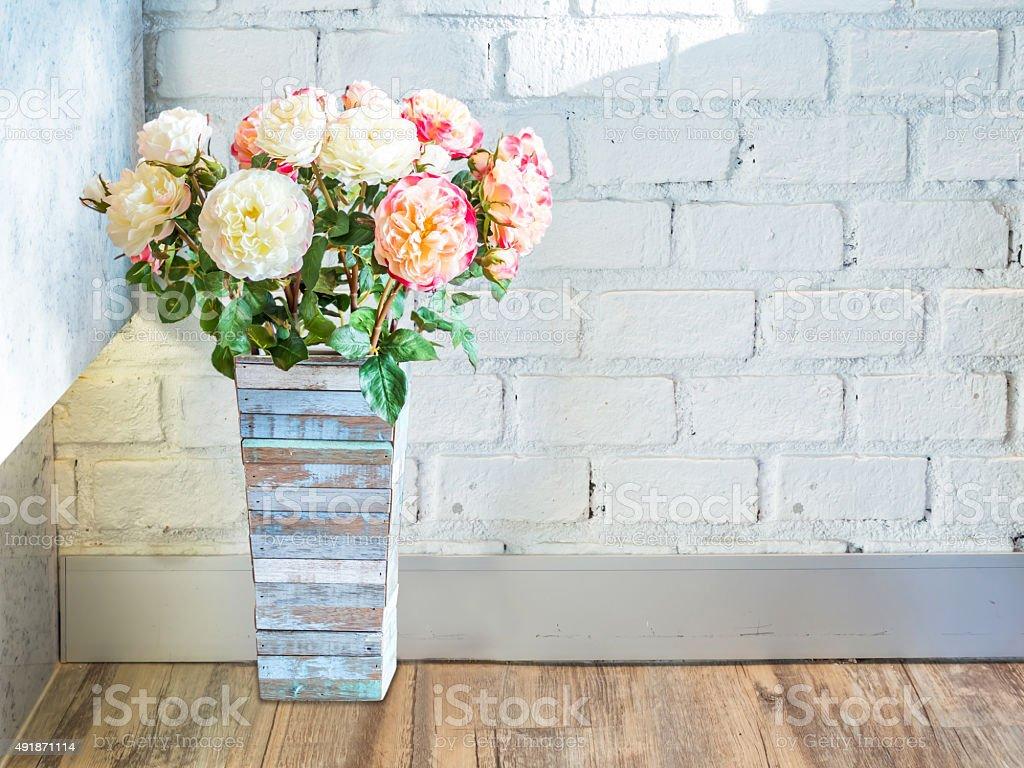 Brique carrelage flore intérieur de maison maison