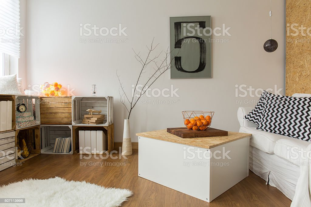 Room made of nature stock photo