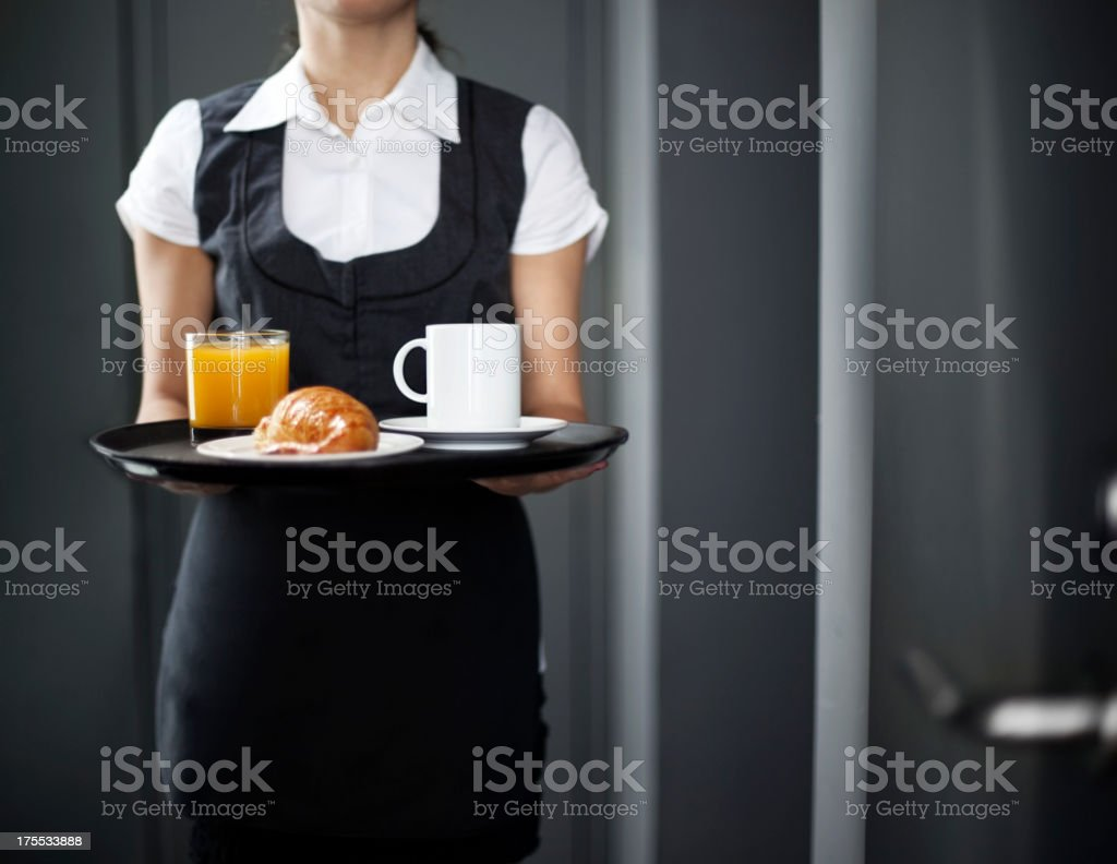 Room service stock photo