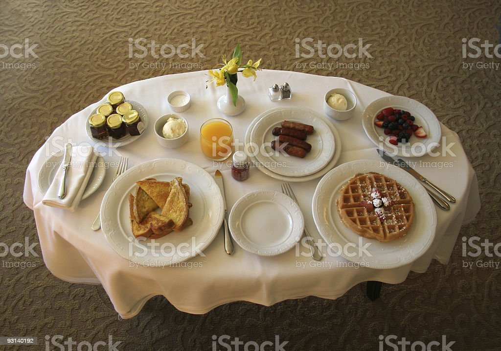 Room Service royalty-free stock photo