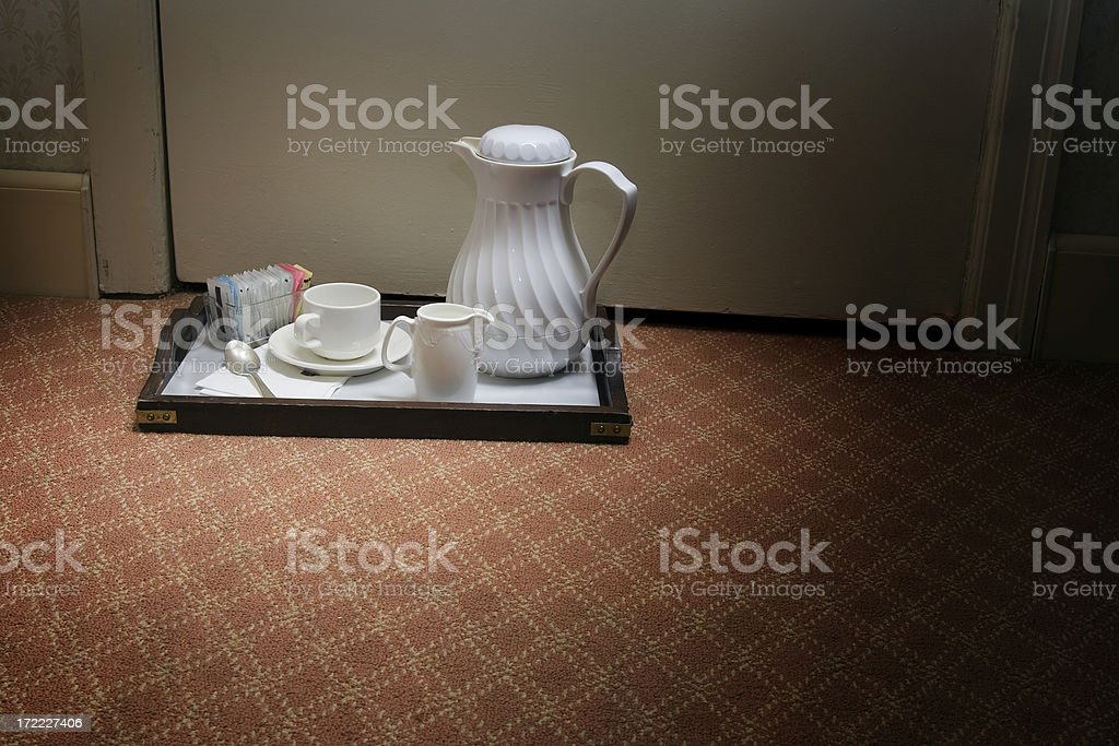 Room Service Two royalty-free stock photo