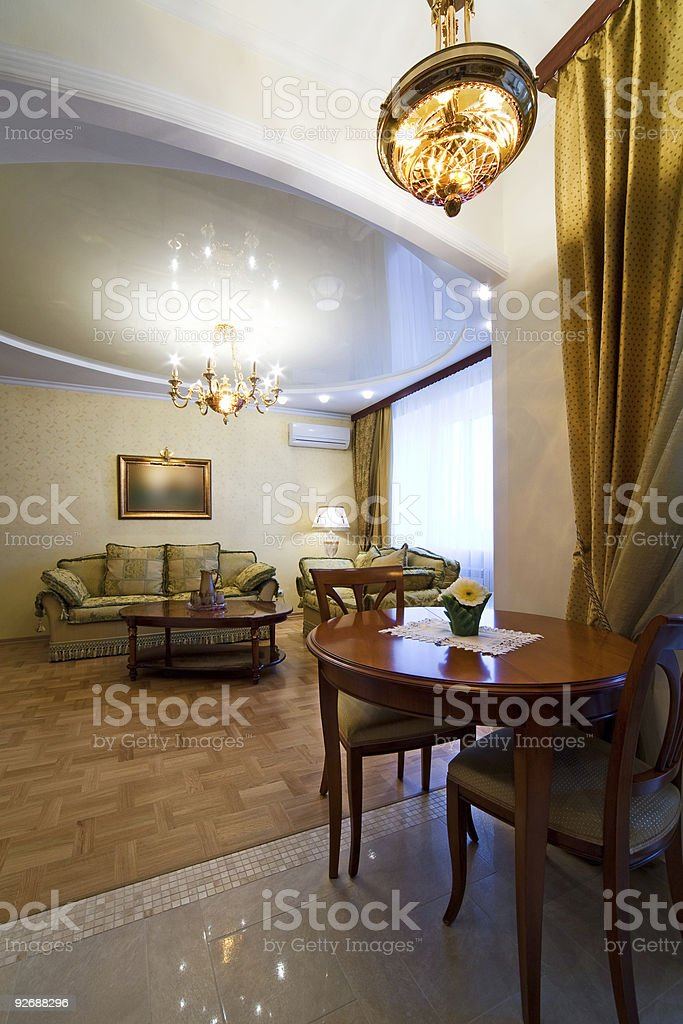 room to rich hotel royalty-free stock photo