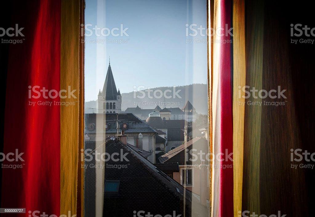 Room view stock photo