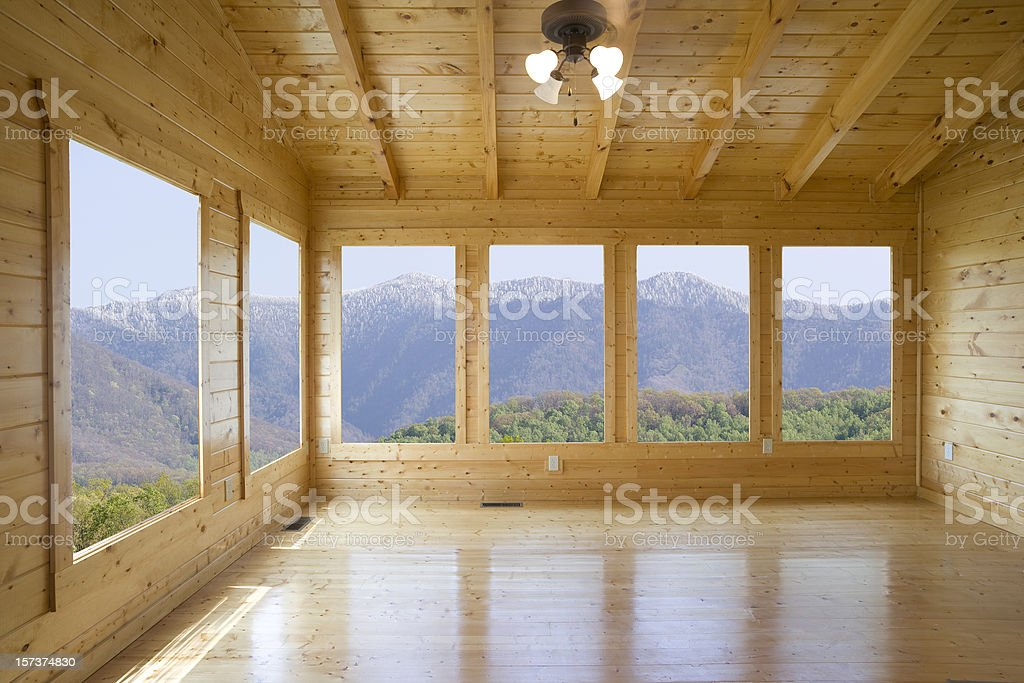 Room with a view but no buyer royalty-free stock photo