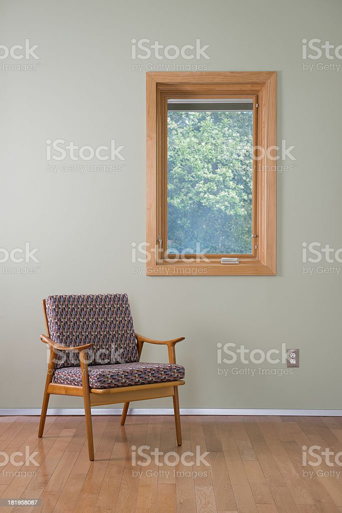 Room With Chair royalty-free stock photo