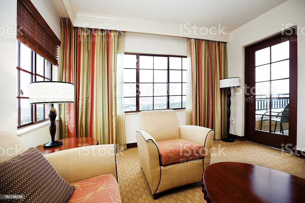 Room With Lots of Windows royalty-free stock photo