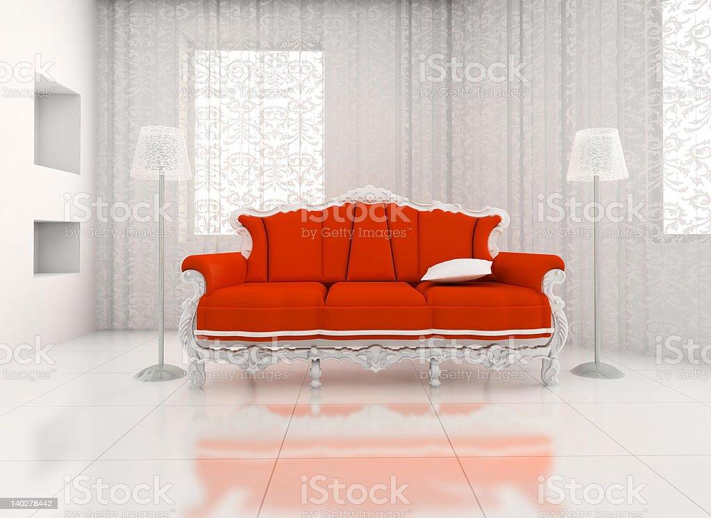room with sofa. royalty-free stock photo