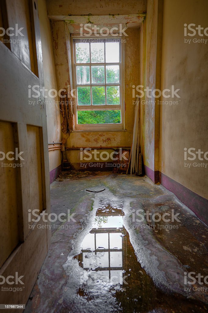 Room with view HDR stock photo