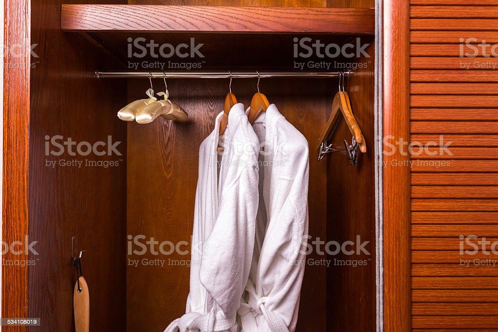 Rooms Wardrobe stock photo