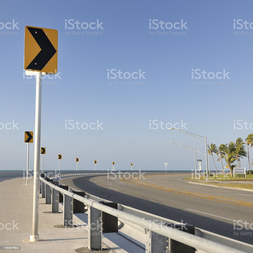 Roosevelt Boulevard Key West Florida USA royalty-free stock photo