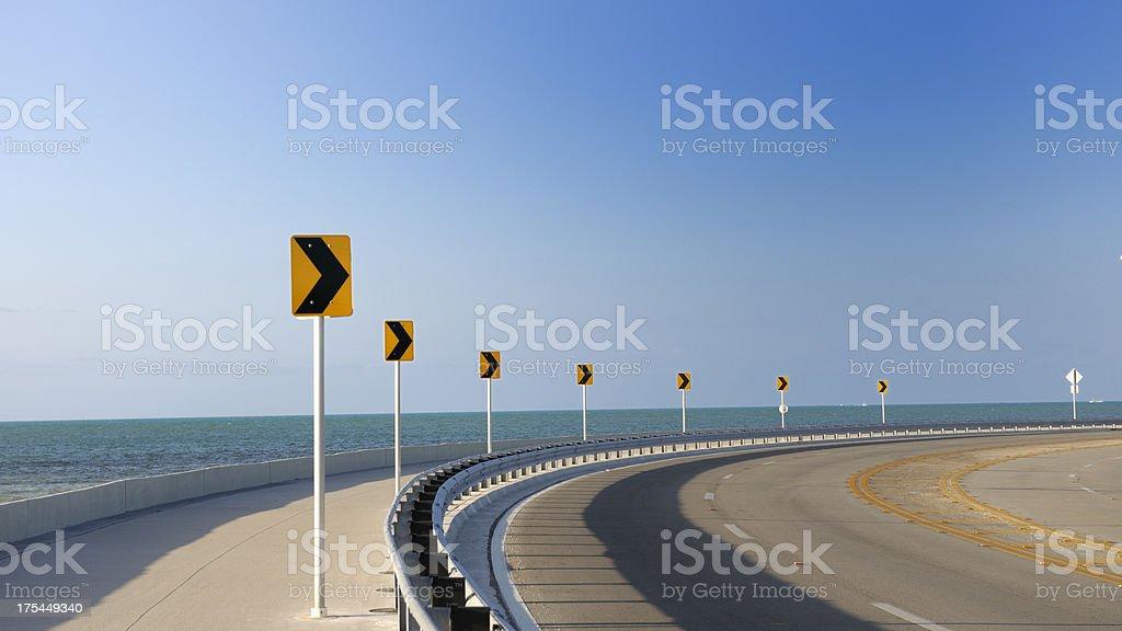 Roosevelt Boulevard, Key West Florida USA stock photo