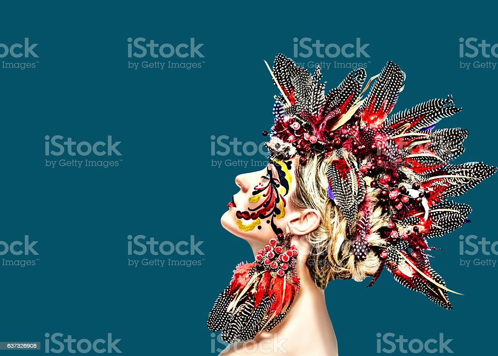 rooster symbol of the coming 2017 stock photo