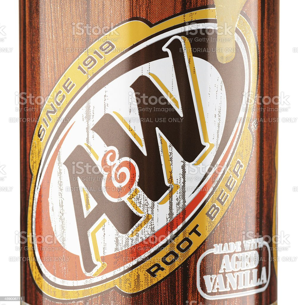 A&W Root Beer royalty-free stock photo