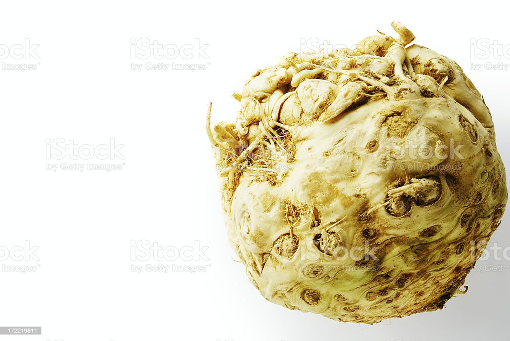 Root celery royalty-free stock photo