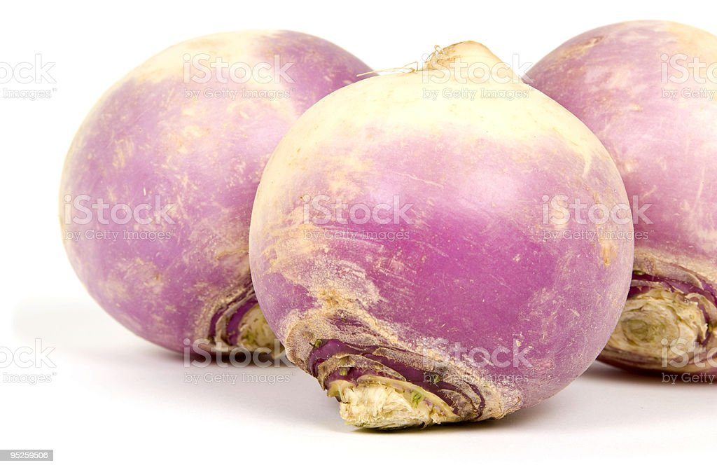Root Vegetable (Turnips) royalty-free stock photo