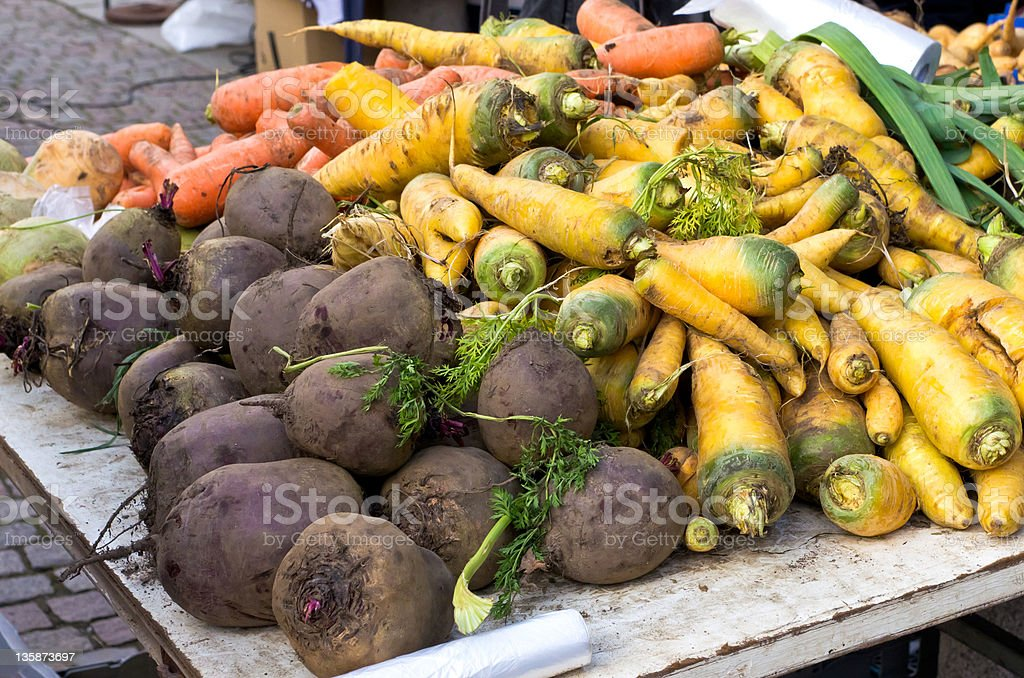 Root vegetables royalty-free stock photo