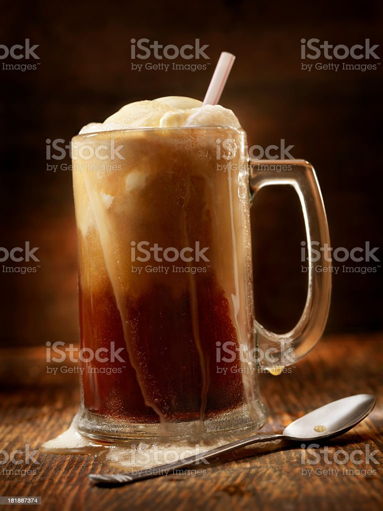 Rootbeer Float stock photo