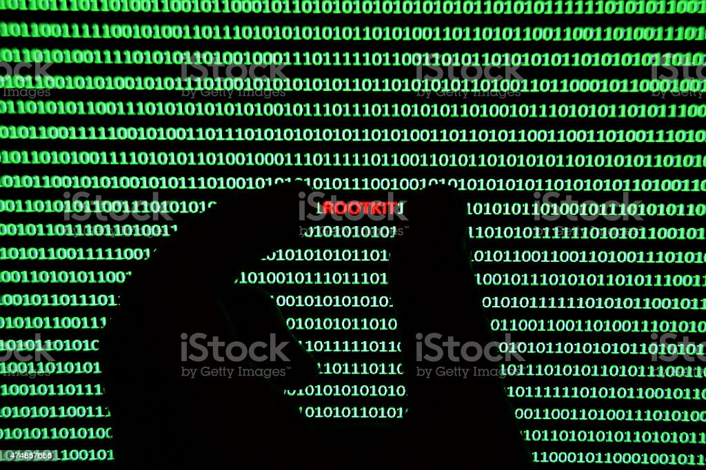 Rootkit Removal stock photo