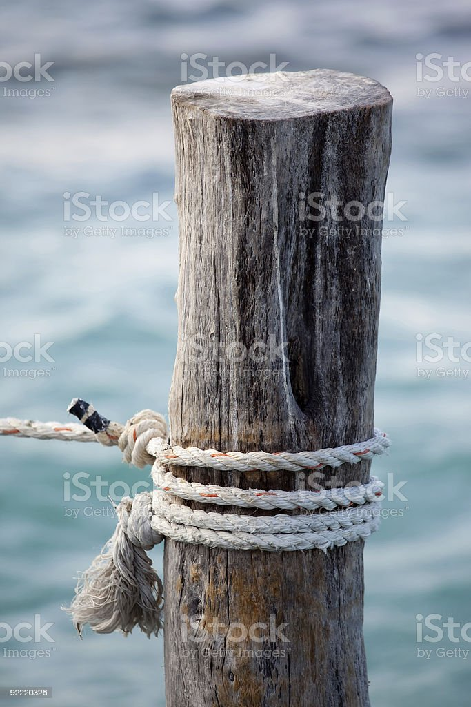 Rope Close up royalty-free stock photo