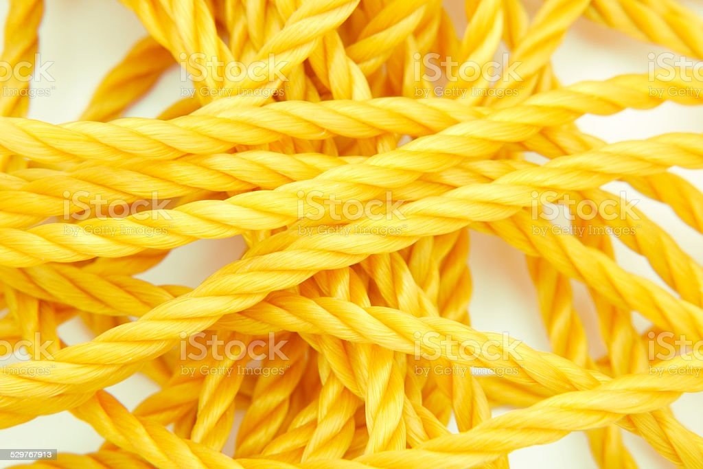 Rope, close-up stock photo