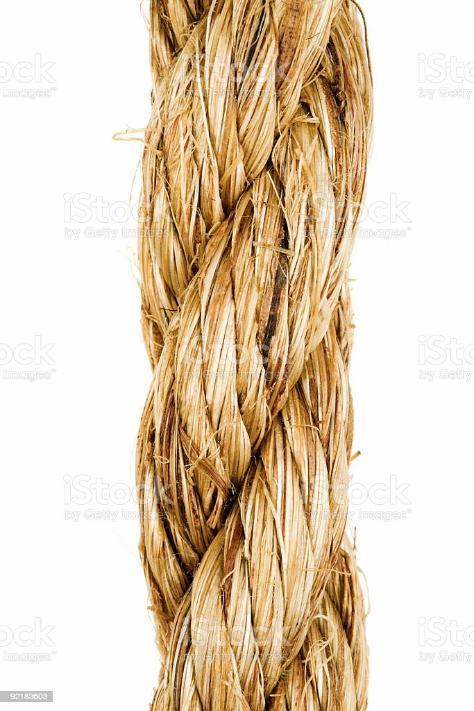 Rope Close-up royalty-free stock photo