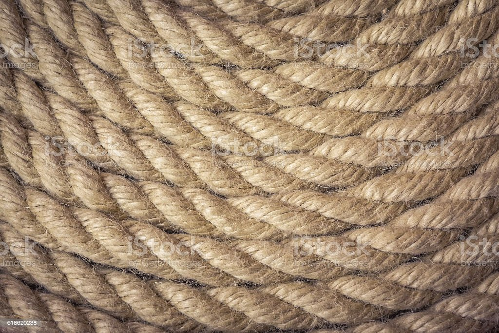 Rope curve background stock photo