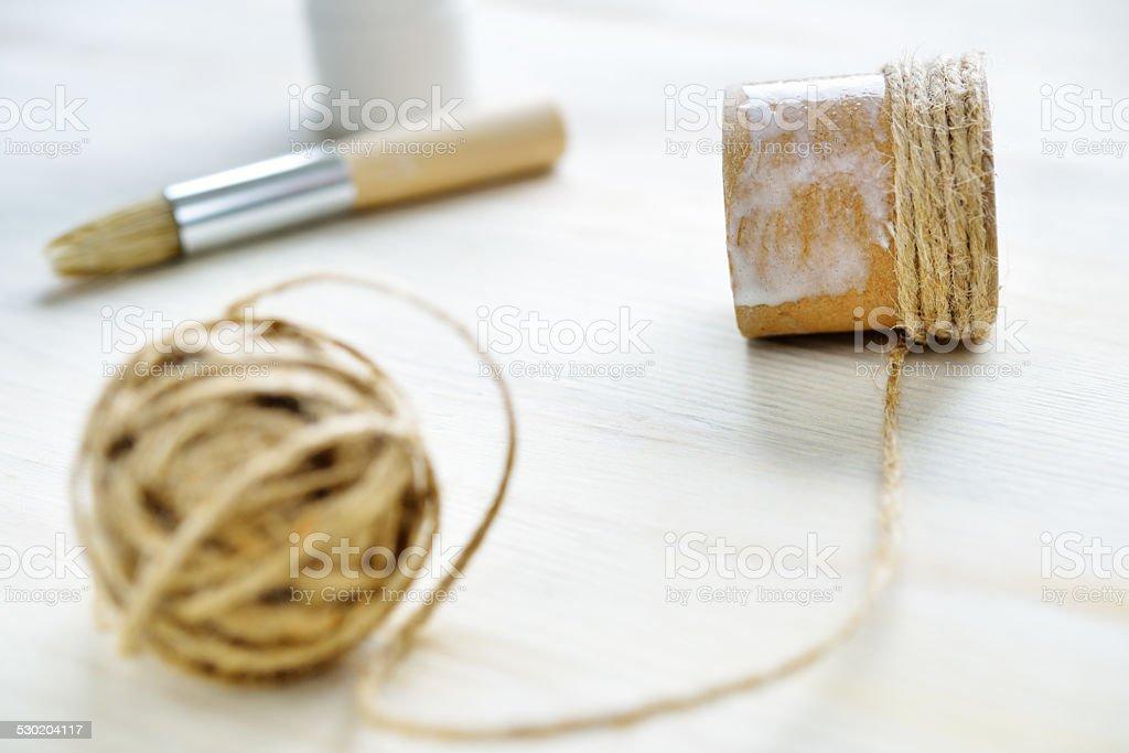 Rope DIY stock photo