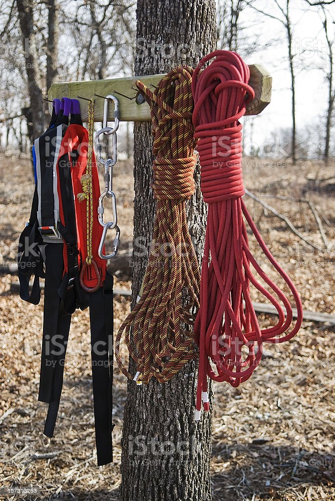 Seil-Ausstattung Lizenzfreies stock-foto