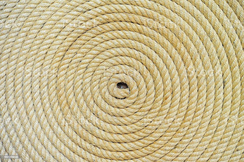 rope folded helix background royalty-free stock photo