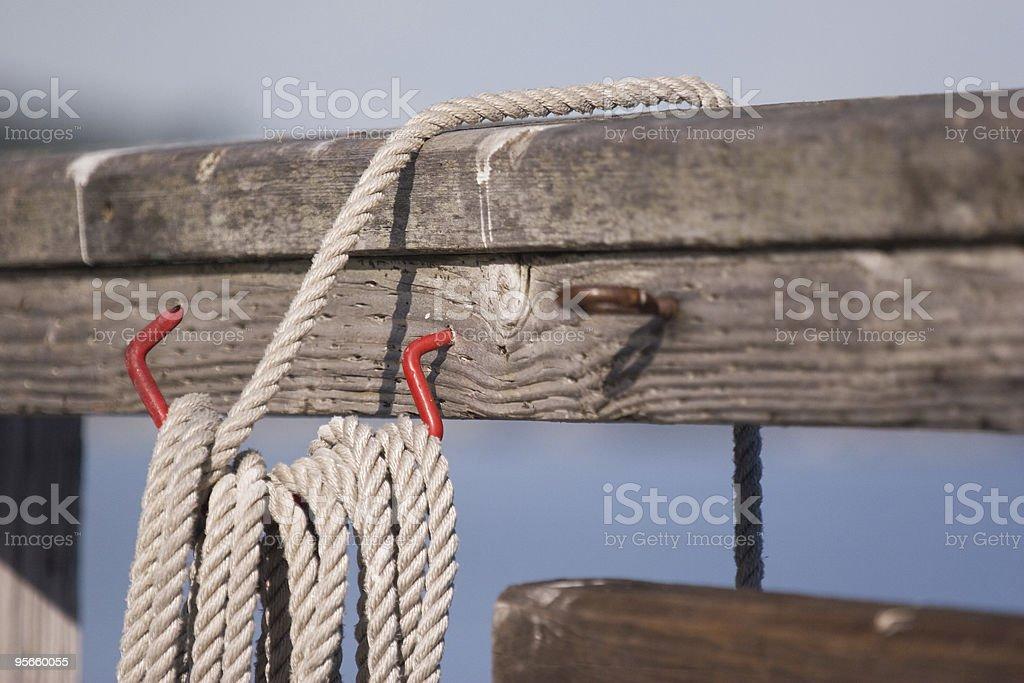 Rope Hook royalty-free stock photo